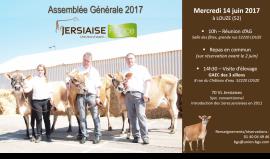 Assemblée Générale Jersiaise France 2017